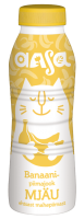 AASA piimajook, banaanimaitseline, 450ml.
