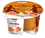 AASA kreeka jogurt, virsikuga, 150g.