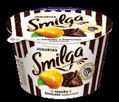 SMILGA jogurtas su kriaušėmis ir šokolado gabaliukais, 200g