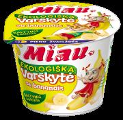MIAU EKO varškytė su bananais, 100g