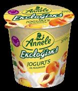 ANNELE ekoloģisks jogurts bez laktozes, ar persikiem, 370g