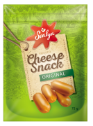 Smoked cheese snacks