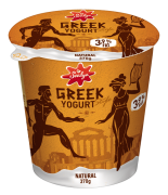 Greek style yogurt